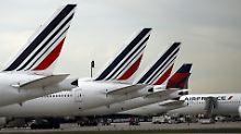 British Airways steigert Gewinn: Air France rutscht tiefer in die roten Zahlen