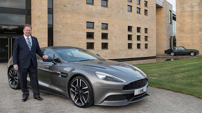 Andy Palmer hat sehr genaue Pläne, wie es mit Aston Martin in Zukunft weitergehen soll.