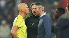 Bitteres Aus für RB Salzburg: Trainer Rose zürnt über Fehlentscheidung