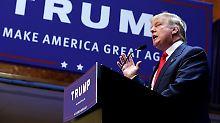 Donald Trump während seiner  Präsidentschaftskandidatur 2015.