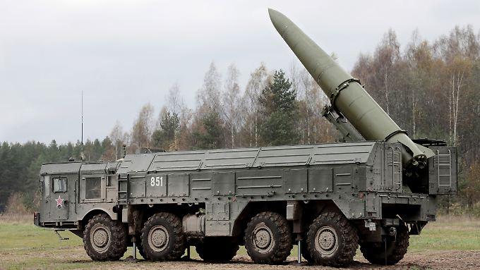 Im Kaliningrader Gebiet soll es aber laut russischem Militär keine Raketentests geben.