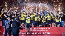 Triumph über das Trauma: Löwen holen erstmals DHB-Pokal
