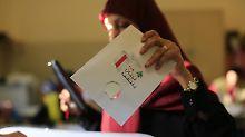 Nur 49,2 Prozent der Wahlberechtigten gaben im Libanon ihre Stimme ab.