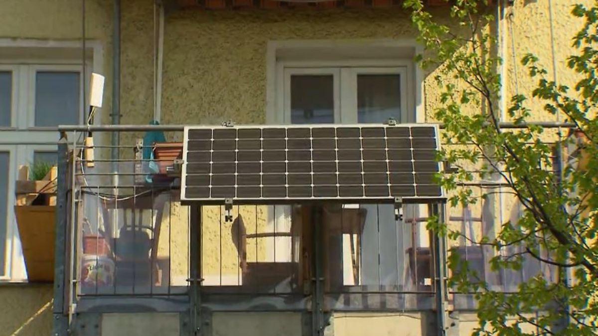 N Tv Ratgeber Was Bei Solarzellen Für Den Balkon Zu Beachten Ist