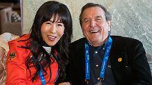 Beim fünften Mal soll's halten: Gerhard Schröder hat wohl geheiratet