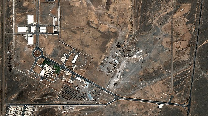 Eine Luftaufnahme der Atomanlage Natans. Hier darf es - laut Abkommen - weiterhin Urananreicherung geben. Allerdings nur begrenzt.