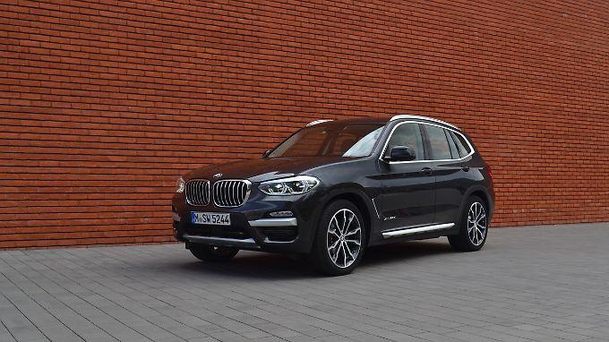Schnittiger als sein Vorgänger steht der BMW X3 seit September 2017 auf der Straße.