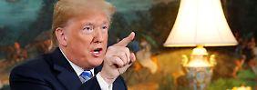Rückzug vom Atom-Deal: Trump stellt deutschen Firmen Iran-Ultimatum