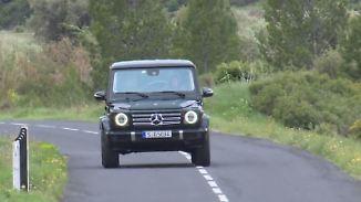Offroad-Urgestein in neuem Gewand: Mercedes G-Klasse setzt neue Maßstäbe im Gelände