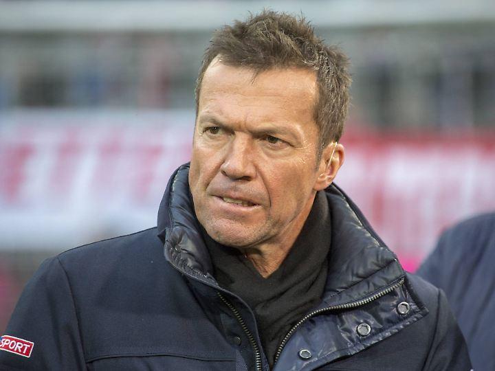 Gibt auch noch einen Kommentar ab: Lothar Matthäus.
