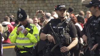 Scharfschützen und Flugverbot: Windsor wird vor royaler Hochzeit zur Festung