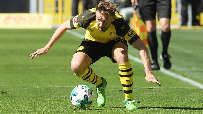 Sinnbild für die Dortmunder Saison: Marcel Schmelzer bei der unrühmlichen Niederlage gegen Mainz.