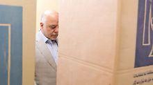 Richtungsweisende Wahl: Amtierender Premier liegt im Irak vorn
