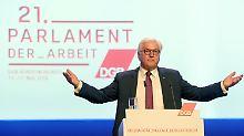 """""""Käme einer Kapitulation gleich"""": Steinmeier lehnt Grundeinkommen ab"""