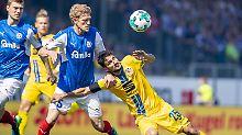 Düsseldorf ist Zweitliga-Meister: Braunschweig stürzt ab, Aue in Relegation
