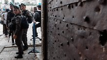 Eröffnung der US-Botschaft: Jerusalem droht ein Tag der Gewalt