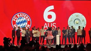 Saisonfinale mit Krawall und Zeitumstellung: München feiert routiniert, HSV schämt sich in die 2. Liga