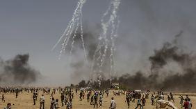 Zahlreiche Tote und Verletzte: Proteste gegen US-Botschaft in Jerusalem eskalieren