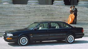 Ab 1989 gab es dann auch eine Langversion des Audi V8.