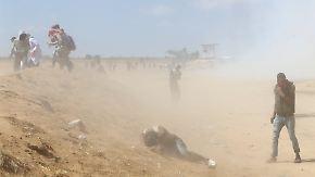 Ausschreitungen im Gazastreifen: Erdogan wirft Israel Genozid vor