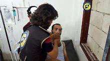 Chlorgasangriff in Sarakeb: OPCW bestätigt Giftgaseinsatz in Syrien