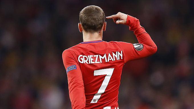 Verabschiedet sich Antoine Griezmann mit seinem ersten großen Titel von Atlético?