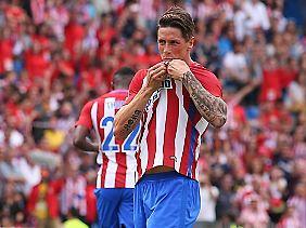Keine hohle Geste - Torres liebt sein Atleti.