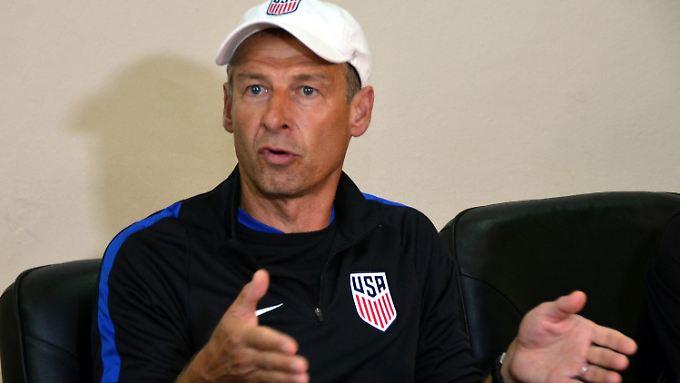 """Jürgen Klinsmann: """"Das Team war in der Spur."""""""