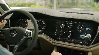 Was kann die Konkurrenz?: Neuer VW Touareg legt mit digitalem Cockpit vor