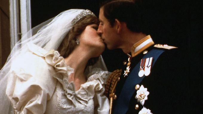 Die Hochzeit von Diana und Charles verfolgten 1981 mehr als 700 Millionen Zuschauer.
