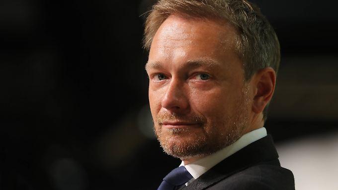 Gibt sich zurzeit auch gern mal als Medienkritiker: FDP-Chef Christian Lindner.
