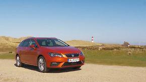 Unterwegs mit Erdgas: Seat Leon CNG im Test