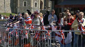 Enorme Sicherheitsmaßnahmen: Windsor ist bereit für die Traumhochzeit