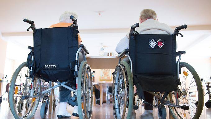 Drei Milliarden Euro beträgt das Minus der Pflegekassen.