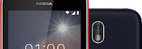 Spannendes 100-Euro-Handy: Wie gut ist das Nokia 1 mit Android Go?