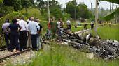 Flugzeugabsturz in Kuba: Unglück fordert zahlreiche Menschenleben