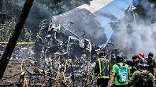 Flugzeugtragödie auf Kuba: Boeing verfing sich in Stromkabeln