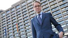 Gilt schon länger als Anwärter für die Nachfolge von Mario Draghi an der Spitze der EZB: Bundesbankpräsident Jens Weidmann.