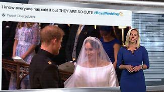 n-tv Netzreporter: #RoyalWedding lässt Userherzen schmelzen