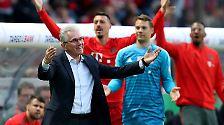 Die enttäuschenden Bayern verpassten das geplante Double-Servus für Heynckes.