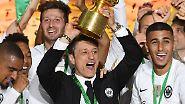 Niko Kovac hat Jupp Heynckes in einem dramatischen Pokalfinale den Renteneintritt vermiest und Eintracht Frankfurt zum Abschied sensationell den ersten Titel seit 30 Jahren geschenkt.