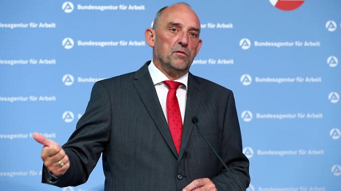 Fordert strenge Vorgaben für die Zuwanderung: BA-Chef Detlef Scheele