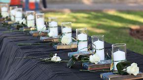 Schulmassaker mit zehn Toten in Texas: Schütze wählte Opfer bewusst aus