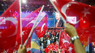"""Warnung an """"Terroristen"""": Erdogan droht mit """"osmanischer Ohrfeige"""""""