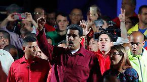 Krisenland Venezuela: Maduro bei umstrittener Wahl zum Sieger erklärt