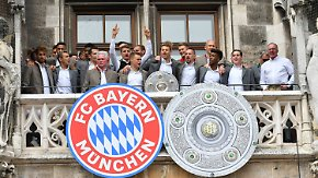 Meisterfeier mit kritischen Tönen: FC Bayern will sich die Saison nicht schlechtreden lassen