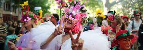 """Friedliches Fest für Vielfalt: """"Karneval der Kulturen"""" begeistert Berlin"""