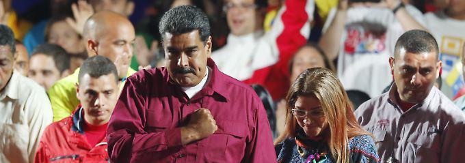 Hat die Wahl gewonnen: Nicolás Maduro