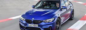 Der neue BMW M3 CS geht über die Rennstrecke eben so gut wie die Landstraße.