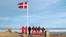 Dänemark und Kanada treffen sich: Nettester Grenzstreit der Welt soll enden